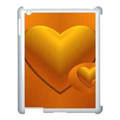 Love Apple Ipad 3/4 Case (white) by Siebenhuehner