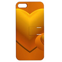 Love Apple Iphone 5 Hardshell Case With Stand by Siebenhuehner