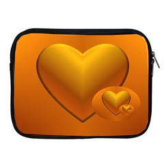 Love Apple Ipad 2/3/4 Zipper Case by Siebenhuehner