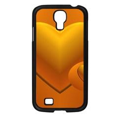 Love Samsung Galaxy S4 I9500/ I9505 Case (black) by Siebenhuehner