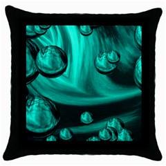 Space Black Throw Pillow Case by Siebenhuehner