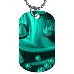 Space Dog Tag (two Sided)  by Siebenhuehner