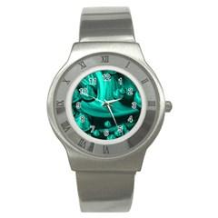Space Stainless Steel Watch (unisex) by Siebenhuehner