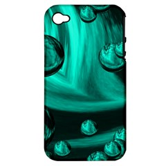 Space Apple Iphone 4/4s Hardshell Case (pc+silicone) by Siebenhuehner