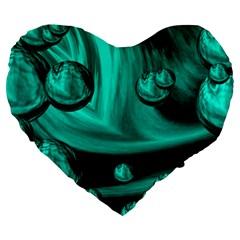 Space 19  Premium Heart Shape Cushion by Siebenhuehner
