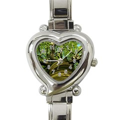 Tree Heart Italian Charm Watch  by Siebenhuehner