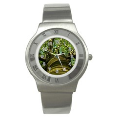 Tree Stainless Steel Watch (unisex) by Siebenhuehner