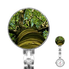 Tree Stainless Steel Nurses Watch by Siebenhuehner