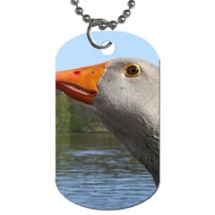 Geese Dog Tag (one Sided) by Siebenhuehner