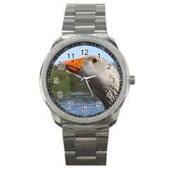 Geese Sport Metal Watch by Siebenhuehner