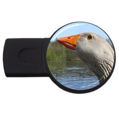 Geese 4gb Usb Flash Drive (round)