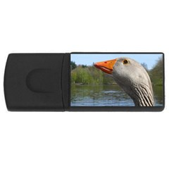 Geese 4gb Usb Flash Drive (rectangle) by Siebenhuehner