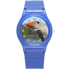 Geese Plastic Sport Watch (small) by Siebenhuehner