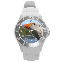 Geese Plastic Sport Watch (large) by Siebenhuehner
