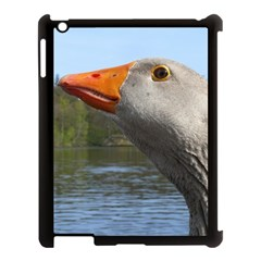 Geese Apple Ipad 3/4 Case (black)