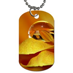 Drops Dog Tag (two Sided)  by Siebenhuehner