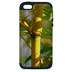 Bamboo Apple Iphone 5 Hardshell Case (pc+silicone)