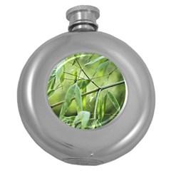 Bamboo Hip Flask (round) by Siebenhuehner