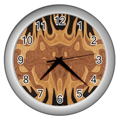 Design Wall Clock (silver) by Siebenhuehner