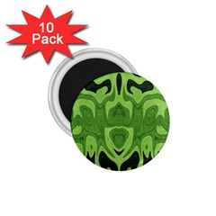 Design 1 75  Button Magnet (10 Pack) by Siebenhuehner