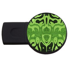 Design 4gb Usb Flash Drive (round) by Siebenhuehner