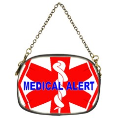 Medical Alert Health Identification Sign Chain Purse (two Sided)  by youshidesign