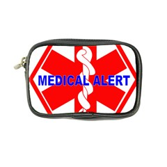 Medical Alert Health Identification Sign Coin Purse by youshidesign