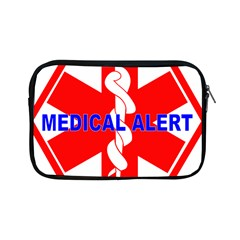 Medical Alert Health Identification Sign Apple Ipad Mini Zipper Case by youshidesign