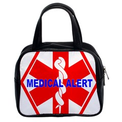 Medical Alert Health Identification Sign Classic Handbag (two Sides) by youshidesign