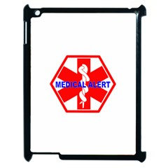 Medical Alert Health Identification Sign Apple Ipad 2 Case (black) by youshidesign