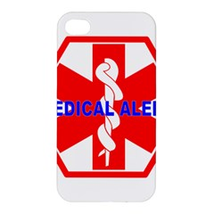 Medical Alert Health Identification Sign Apple Iphone 4/4s Hardshell Case by youshidesign