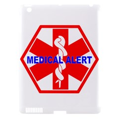 Medical Alert Health Identification Sign Apple Ipad 3/4 Hardshell Case (compatible With Smart Cover) by youshidesign