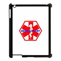 Medical Alert Health Identification Sign Apple Ipad 3/4 Case (black) by youshidesign