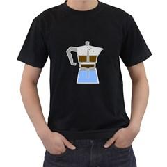 Espresso Machine Mens' T Shirt (black) by Contest1736797
