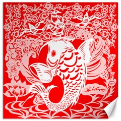 Form Of Auspiciousness Canvas 20  X 20  (unframed) by doodlelabel