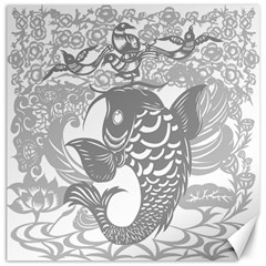 Form Of Auspiciousness Canvas 12  X 12  (unframed) by doodlelabel