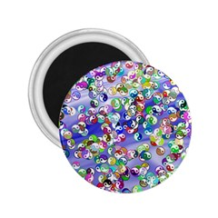 Ying Yang 2 25  Button Magnet by Siebenhuehner