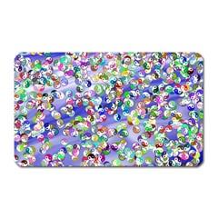 Ying Yang Magnet (rectangular) by Siebenhuehner