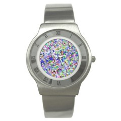 Ying Yang Stainless Steel Watch (unisex) by Siebenhuehner