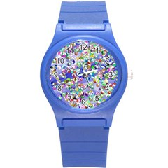 Ying Yang Plastic Sport Watch (small) by Siebenhuehner