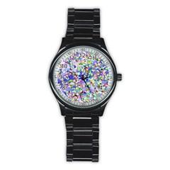 Ying Yang Sport Metal Watch (Black)