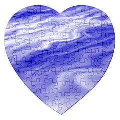 Wave Jigsaw Puzzle (heart) by Siebenhuehner