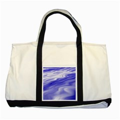Wave Two Toned Tote Bag by Siebenhuehner
