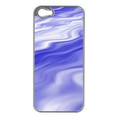 Wave Apple Iphone 5 Case (silver) by Siebenhuehner