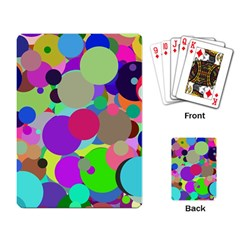 Balls Playing Cards Single Design by Siebenhuehner