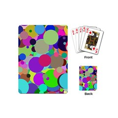Balls Playing Cards (mini) by Siebenhuehner