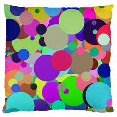 Balls Large Cushion Case (two Sided)  by Siebenhuehner
