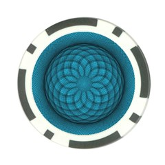 Spirograph Poker Chip (10 Pack) by Siebenhuehner