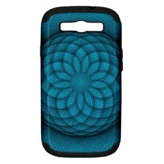 Spirograph Samsung Galaxy S Iii Hardshell Case (pc+silicone) by Siebenhuehner