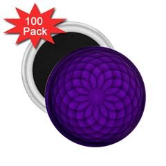 Spirograph 2 25  Button Magnet (100 Pack) by Siebenhuehner